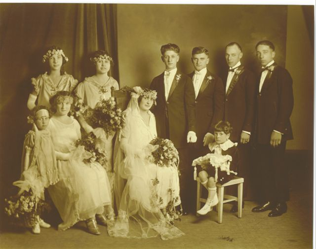 Grandma Angie's Wedding 10-12-1924